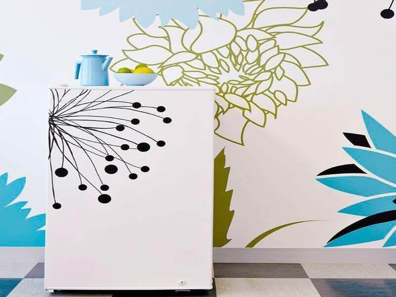 Фотообои на холодильник