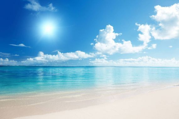 Beautiful beach sky backgrounds