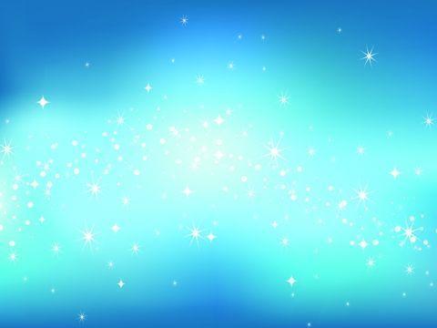 Звездное голубое небо