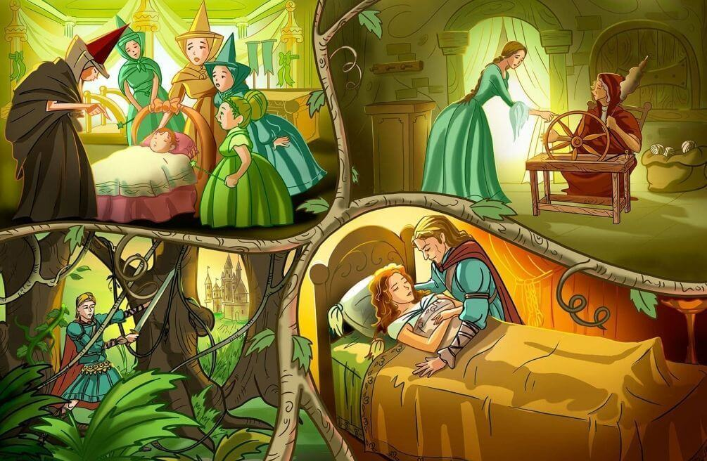 Grimms fairy tales online games