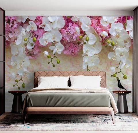 Орхидеи фотообои купить