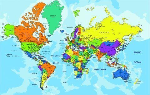 карта мира на русском скачать бесплатно - фото 2