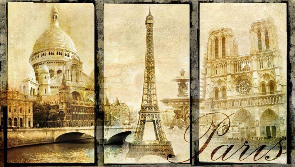 фотообои франция: